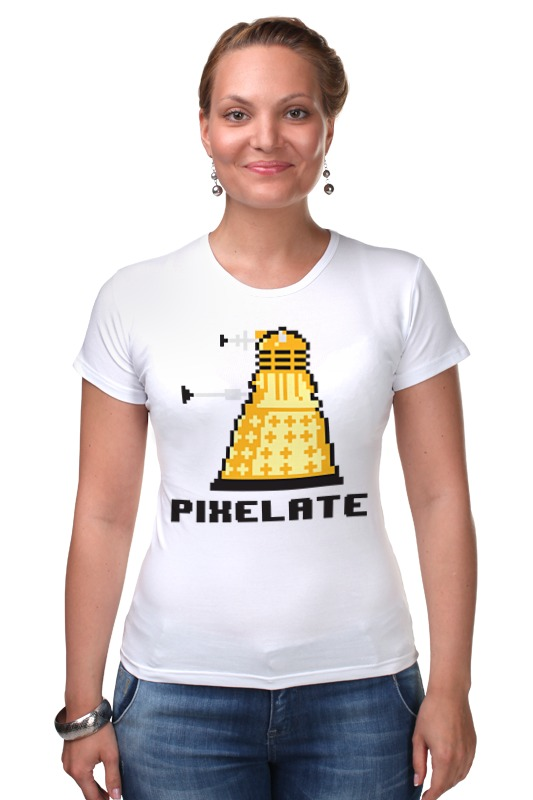 Футболка Стрэйч Printio Далек (доктор кто) футболка рингер printio доктор кто doctor who