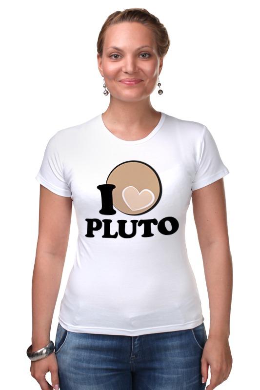 Футболка Стрэйч Printio Плутон (pluto) pluto
