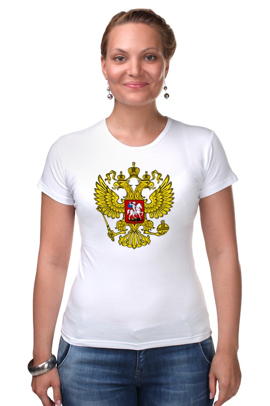 Футболка Стрэйч Printio Russian federation russian phrase book