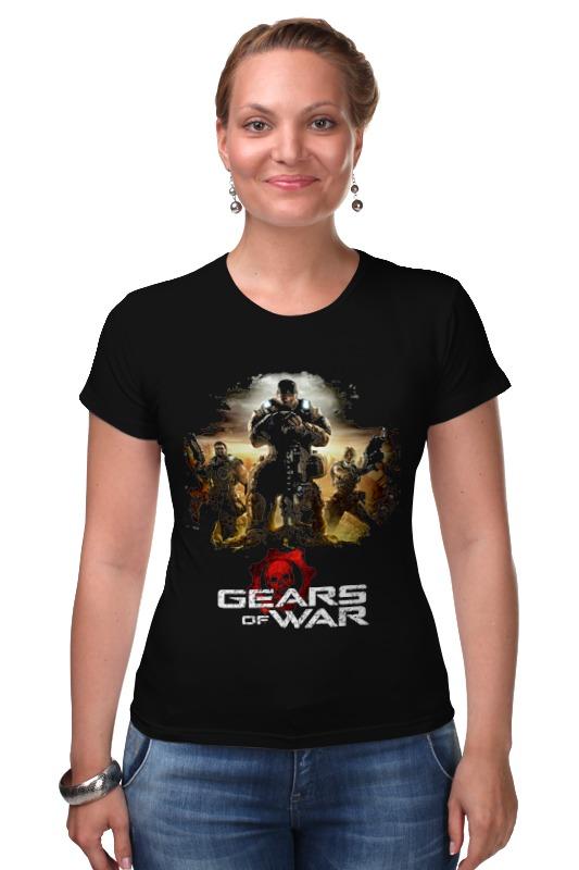Футболка Стрэйч Printio Gears of war 2 master of war volume 1
