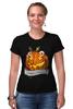 """Футболка Стрэйч (Женская) """"Хэллоуин"""" - хэллоуин, helloween"""