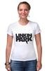 """Футболка Стрэйч (Женская) """"Linkin Park logo"""""""