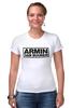 """Футболка Стрэйч """"Армин ван Бюрен (Armin van Buuren)"""" - club, клуб, armin van buuren, армин ван бюрен, клубная музыка"""