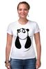 "Футболка Стрэйч ""Панда (Panda)"" - панда, panda"