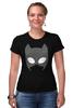"""Футболка Стрэйч (Женская) """"Женщина-кошка (Catwoman)"""" - женщина-кошка, catwoman"""