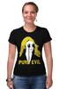 "Футболка Стрэйч ""Pure Evil"" - граффити, дизайн, винтаж, pure evil"