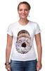 """Футболка Стрэйч (Женская) """"Donuts"""" - photo, пончики, пончик, ням, вкуснятина, delitios, donuts"""