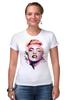 """Футболка Стрэйч (Женская) """"Marilyn Monroe"""" - мэрилин монро, marilyn monroe"""