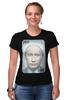 """Футболка Стрэйч (Женская) """"Putin Joker"""" - стиль, патриот, путин, putin"""