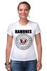 """Футболка Стрэйч (Женская) """"Ramones """" - punk, ramones, рамоунз"""