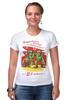 """Футболка Стрэйч (Женская) """"Поздравляем с 23 февраля! """" - день защитника отечества, солдат, военный"""