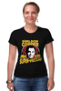 "Футболка Стрэйч (Женская) ""Sheldon Cooper (Шелдон Купер)"" - the big bang theory, теория большого взрыва, шелдон купер, sheldon cooper"