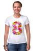 """Футболка Стрэйч """"8 марта!"""" - цветы, 8 марта, международный женский день"""