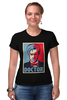 "Футболка Стрэйч (Женская) ""Доктор Кто (Doctor Who)"" - doctor who, доктор кто"