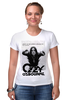 "Футболка Стрэйч (Женская) ""Ozzy Osbourne"" - heavy metal, ozzy, оззи осборн, ozzy osbourne, хэви метал"