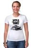 "Футболка Стрэйч (Женская) ""World of Tanks"" - игра, game, world of tanks, танки, wot"