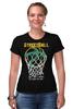 """Футболка Стрэйч (Женская) """"Streetball"""" - баскетбол, корзина, streetball, мячь"""