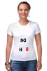 """Футболка Стрэйч (Женская) """"NOH8"""" - noh8, lgbt, протест"""