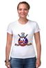 "Футболка Стрэйч ""Нью-Йорк Айлендерс "" - хоккей, nhl, нхл, нью-йорк айлендерс, new york islanders"