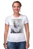 """Футболка Стрэйч (Женская) """"Marilyn Monroe  """" - ретро, ню, мэрилин монро, marilyn monroe, kinoart"""