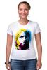 "Футболка Стрэйч ""Nirvana Kurt Cobain "" - nirvana, рок, kurt cobain, курт кобейн, нирвана"