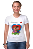 "Футболка Стрэйч ""love is..."" - любовь, love is"