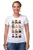 """Футболка Стрэйч (Женская) """"Доктор Кто (8-bit)"""" - doctor who, доктор кто, pixel art, 8-bit, пиксельная графика"""