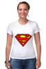 """Футболка Стрэйч """"Supergirl"""" - comics, superman, dc"""