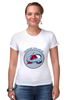 "Футболка Стрэйч ""Colorado Avalanche"" - хоккей, nhl, нхл, колорадо эвеланш, colorado avalanche"
