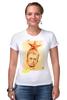 """Футболка Стрэйч (Женская) """"Жириновский"""" - звезда, партия, жириновский, лдпр"""