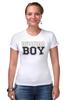 """Футболка Стрэйч """"RUSSIAN BOY"""" - парню, russian, boy, русский мальчик"""