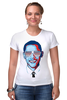 "Футболка Стрэйч ""Барак Обама"" - арт, usa, сша, президент, president, barack obama"