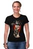 "Футболка Стрэйч ""steampunk"" - стиль, gun, steampunk, стимпанк, научная фантастика, механика, анахронизм"