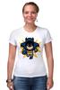 "Футболка Стрэйч ""Бэтмен (8-бит)"" - batman, бэтмен, пиксели, 8-бит"