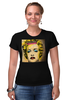 "Футболка Стрэйч ""Madonna"" - музыка, pop art, madonna, мадонна"