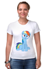 """Футболка Стрэйч """"my little pony"""" - pony, mlp, my little pony, пони, swag"""