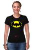 "Футболка Стрэйч (Женская) ""Dead Batman"" - batman, бэтман"