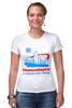 """Футболка Стрэйч """"Новосибирск"""" - новосибирск, день города, я люблю этот город"""