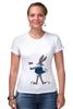 """Футболка Стрэйч (Женская) """"Bugs Bunny_man"""" - fun, nice"""
