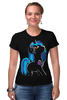 "Футболка Стрэйч ""My Little Pony: DJ Pon-3 (Vinyl Scratch)"" - dj, pony, mlp, пони, brony"