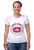 "Футболка Стрэйч ""Montreal Canadiens"" - хоккей, nhl, нхл, montreal canadiens, монреаль канадиенс"