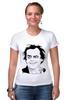 "Футболка Стрэйч (Женская) ""Jack Nicholson"" - актер, джек николсон, jack nicholson"