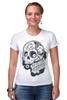 "Футболка Стрэйч ""День Мертвых в Мексике"" - авторские майки, черепа, mexico, day of the dead, november 1st"