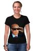"""Футболка Стрэйч (Женская) """"Pixel Putin"""" - король, pixel, путин, putin, пиксели"""