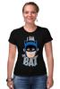 "Футболка Стрэйч ""I Am the Bat"" - комиксы, batman, герой, бэтмен"