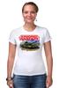 """Футболка Стрэйч (Женская) """"Armored Warfare"""" - игра, game, танки, aw, armored warfare"""