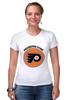 "Футболка Стрэйч (Женская) ""Philadelphia Flyers"" - хоккей, nhl, нхл, филадельфия флайерз, philadelphia flyers"