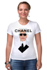 "Футболка Стрэйч ""Chanel"" - fashion, karl lagerfeld, карл лагерфельд"
