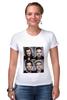 "Футболка Стрэйч ""One Direction"" - one direction, 1d, оне дирекшен, 1 direction"