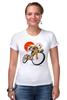 "Футболка Стрэйч ""Star Wars"" - star wars, bicycle, велосипед, bike, stormtrooper, звёздные войны, штурмовик"
